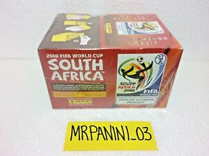 WC-SOUTH-AFRICA-2010-Panini-BOX-da-100-Pacchetti-Figurine-stickers