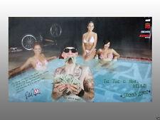 "Free Agent BMX Bikes, Rick Thorne Poster 20.5"" x 12"""
