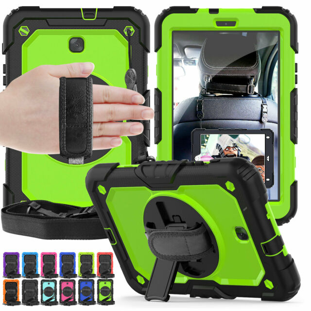 size 40 02d08 6225c Heavy Duty Stand Case & Strap For Samsung Galaxy Tab A 8.0