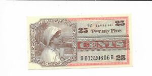 Rare-25-Cents-MPC-Series-661-M903-r2-Military-Payment-Certificate-Choice-CU