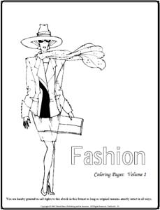 Malbuch 90 Malvorlagen Mode Ausmalbilder Als Pdf Kinder Malen