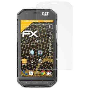 atFoliX-3x-Screen-Protector-voor-Caterpillar-CAT-S31-mat-amp-schokbestendig