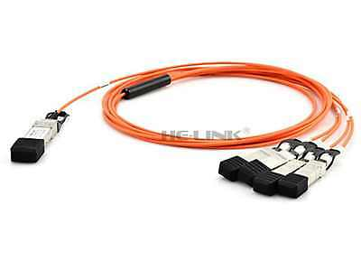 AOC Avago Compatible AFBR-2CAR25Z 10G SFP to SFP 25m Active Optical Cable