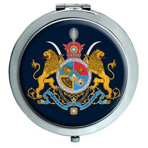 Iran Imperial Wappen Kompakter Spiegel