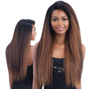Freetress-Equal-Invisible-L-Part-Long-Straight-Hair-Wig-Frosty