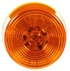 "Truck-Lite 2"" Amber Round 10-Diode LED Marker Light 3050A"