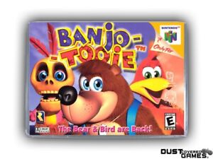 Banjo-Tooie-N64-Nintendo-64-Game-Case-Box-Cover-Brand-New-Professional-Quality