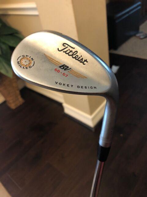 Titleist Vokey Spin Milled C-C Black Nickel Wedge Golf Club