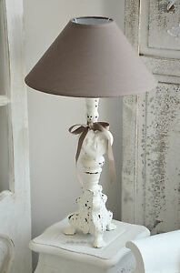 mathilde m lampe stehlampe nachttischlampe tischlampe landhaus shabby chic ebay. Black Bedroom Furniture Sets. Home Design Ideas