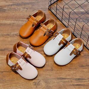 Toddler-Baby-Girl-Shoes-kids-Mary-Jane-Flats-Dress-Casual-Leather-US-SIZE-7-12-5