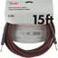 Genuine-Fender-Professional-Series-Guitar-Instrument-Cable-RED-TWEED-15-039-ft thumbnail 1