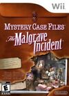 Mystery Case Files The Malgrave Incident Nintendo Wii Game