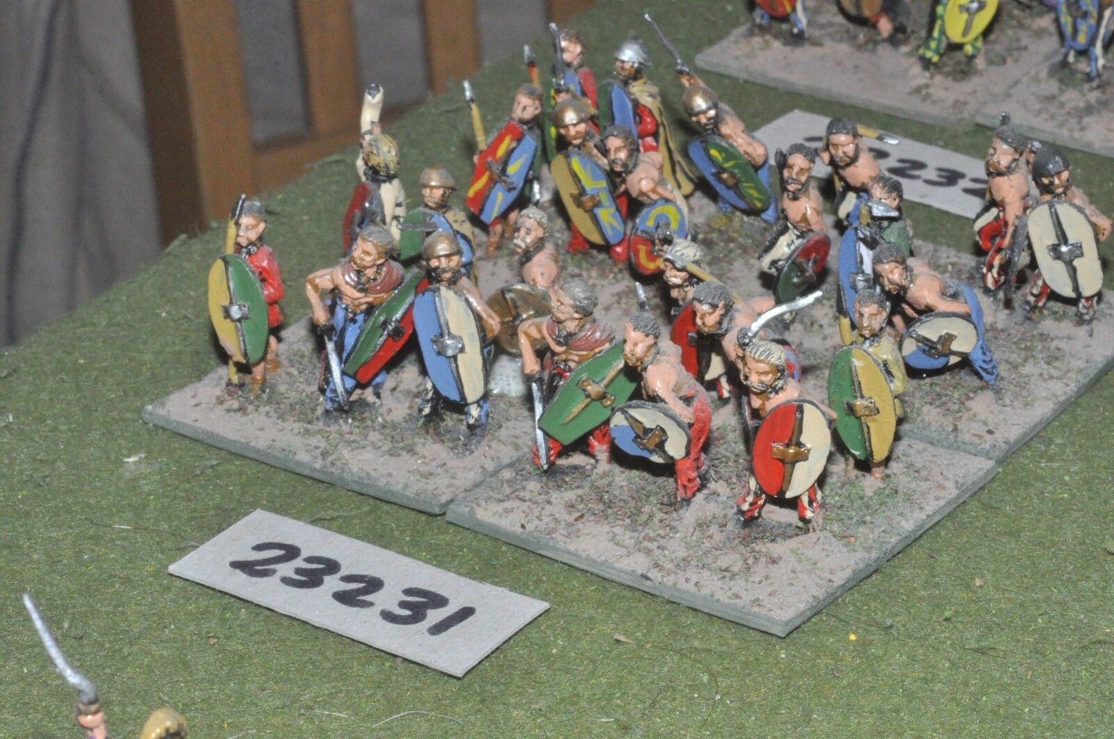25mm roman era   gaul gaul gaul - warriors 24 figures - inf (23231) acb3c6