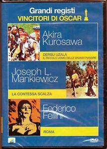 Grandi-Registi-Vincitori-di-Oscar-Volume-1-Cofanetto-3-Dvd-Nuovo