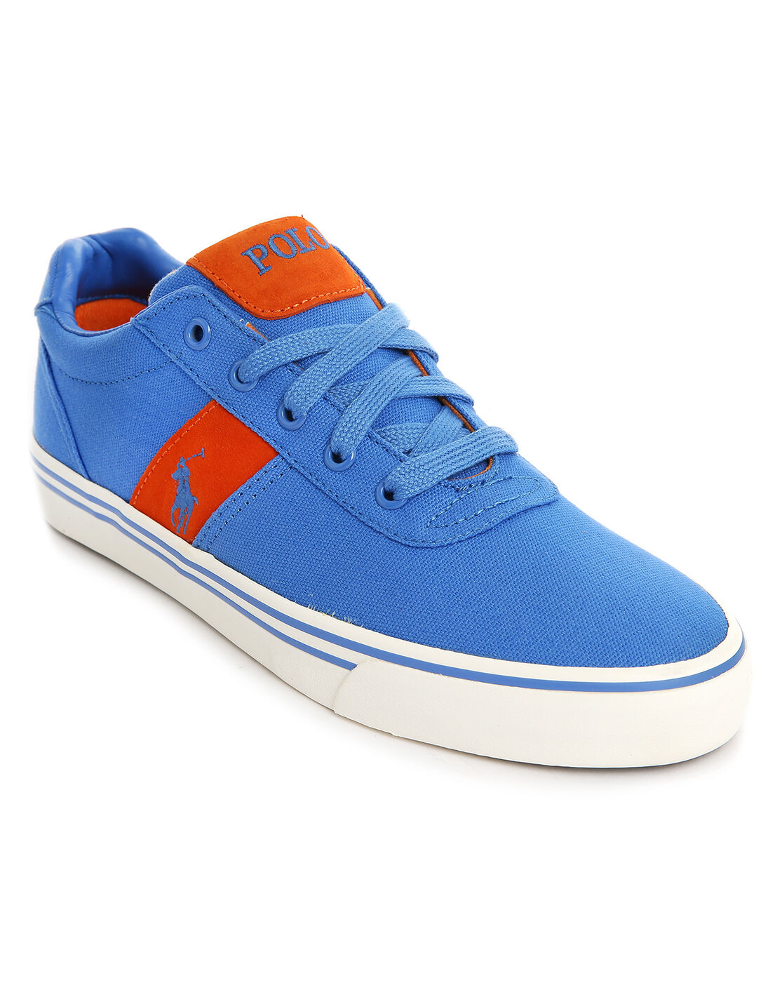 NEW POLO RALPH LAUREN HANFORD-NE COLBY BLUE SNEAKERS TRAINERS SIZE UK 6 / 7 / 8