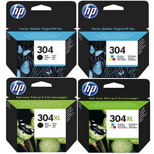 Genuine-HP-304-304XL-Black-and-Colour-Ink-Cartridges-for-Deskjet-3720-3730