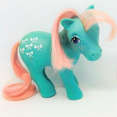Vintage G1 My Little Pony Bows Earth Ponies Bowtie Ebay