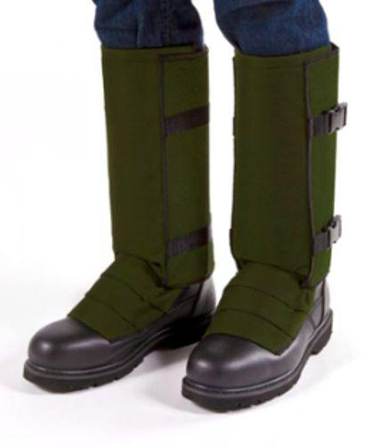 verde Oliva snakeguardz (TM) a prueba de serpiente Leggings, Gaters por crackshot (S-XXXL)