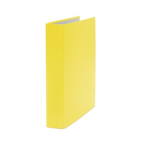 2-Ring Ordner gelb DIN A5 Farbe 10x Ringbuch