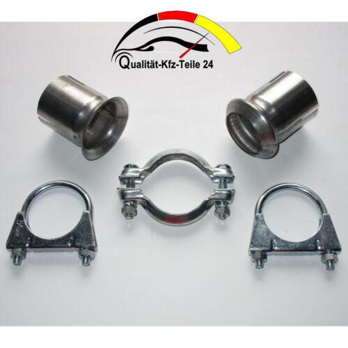Auspuff Rohr Verbinder Reparatur passend für Peugeot /& Citroen /& Renault 45 mm
