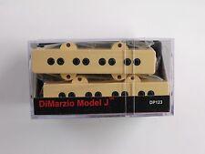 DiMarzio Model J Bass Set Creme DP 123