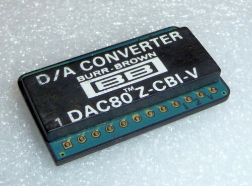 IC DAC 80 Z-CBI-V originale Burr Brown 12-bit D//A-CONVERTER