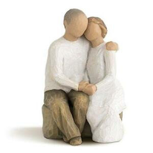 Details About Willow Tree Figure Anniversary Couple Gift Ideas Hand Made Hand Painted New Uk