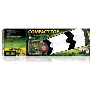 Image is loading Exo-Terra-Medium-Compact-Top-Terrarium-Canopy-Reptile-  sc 1 st  eBay & Exo Terra Medium Compact Top Terrarium Canopy Reptile Habitat ...