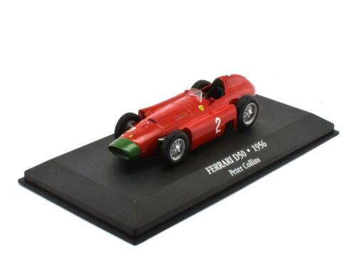 F1-Collection  Maßstab 1:43 von atlas Ferrari D50 Peter Collins 1956