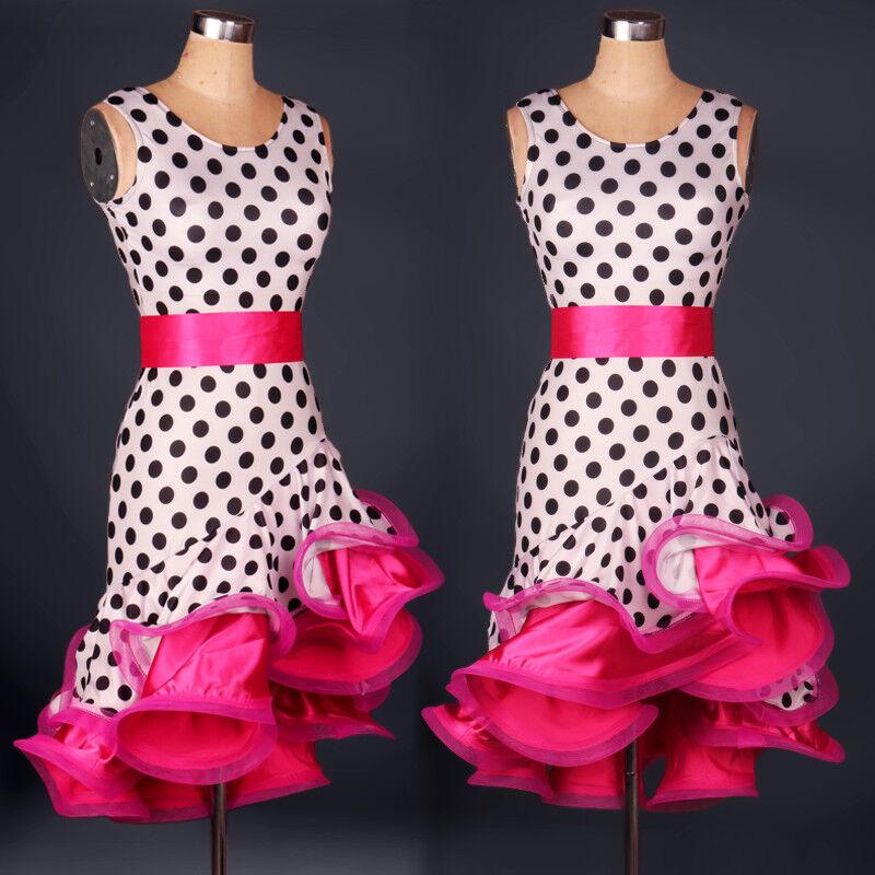 NEU Latino salsa Kleid TanzKleid LatinaKleid Latein Kleid Turnierkleid FM101