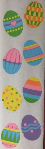 Mrs Grossman`s LARGE  EASTER EGGS 1991 Stickers DISCONTINUED