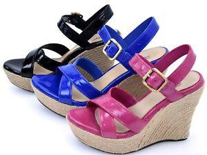Ugg Donna W Art 1004565 Australia Sandalo Scarpa Zeppa Vernice Jackilyn ZrZwq