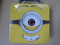 Despicable Me 2 Collectible Minion Tin Metal Lunch Box -limited Edition-