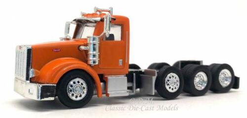 Peterbilt 367 Day Cab Tractor Orange Tandem w//Tag Axle 1//87 HO Promotex 6577-OR