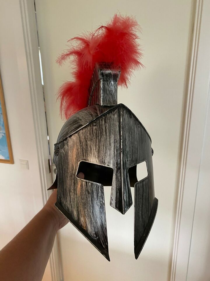 Udklædningstøj, Romer hjelm, Købt i Rom