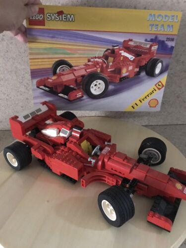 LEGO System Racing Rare Model Team F1 Ferrari 2556
