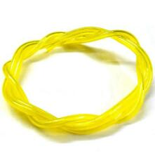 51825Y Neon Yellow RC Engine Petrol Nitro Gas Fuel Line 1 Meter 4mm x 2.5mm 1/16