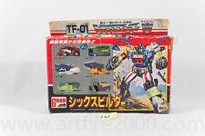 Transformers G1 Sixbuilder Micromaster MIB Giftset Complete Japanese Takara