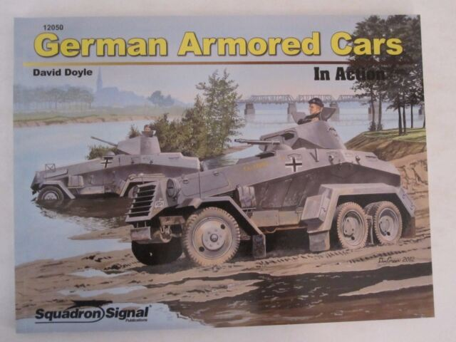 Squadron Signal German Armored Cars in Action Ssp12050