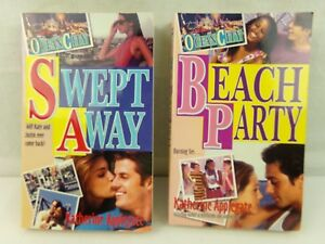 Ocean-City-8-Swept-Away-and-10-Beach-Party-Paperback-Book-Lot-of-2-Applegate