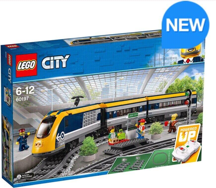 LEGO City Passenger Train - Model 60197 (6-12 Years)