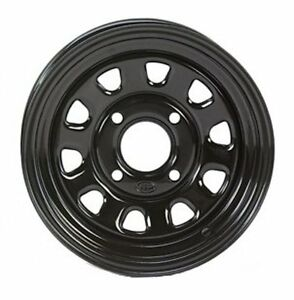 ITP Delta Silver Steel Wheel Front Kawasaki All Mule 550//600//610-371332