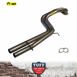 BA-BF-Ford-Falcon-XR8-V8-Sedan-Twin-2-5-034-Exhaust-Muffler-Eliminator-Delete-Pipes