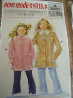 Patron Neue Mode Stil Veste Canadienne 2 Versions T 5 A 11 Ans N°55541