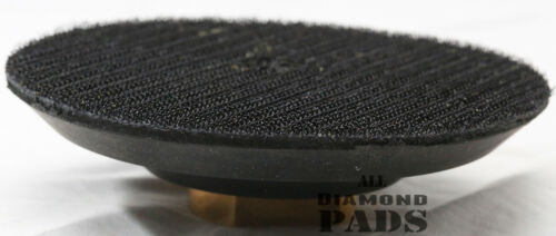 4 Inch Rubber Flexible Backer Pad for 4 inch Hook /& Loop For Diamond Pads