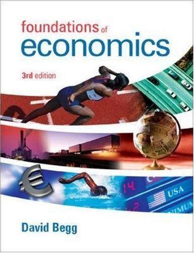 Foundations of Economics,David Begg