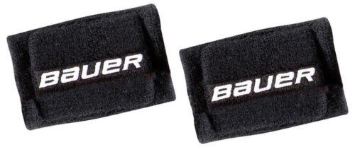 "Red or Blue 2 Pack Bauer Hockey Slash Protection 4/"" Wrist Guards Black"