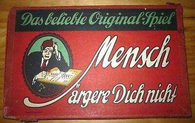 Ordentlich Altes Original Mensch Ärgere Dich Nicht Von F.f.s.m. K33 D.r.w.z.schmidt München Hindernis Entfernen