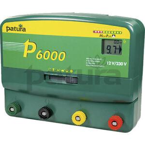 Weidezaungerät P 4500 Zaunprüfer von Patura Multifunktionsgerät 12 V und 230 V