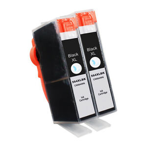 2-BLACK-564XL-BK-Ink-Cartridge-for-HP-Officejet-4610-4620-4622-Photosmart-B209